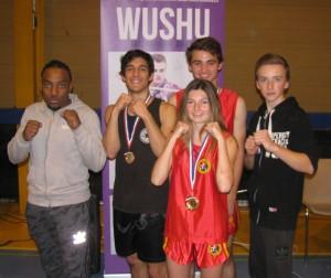 Antonio, Antoine, Loreleï, Luca et Philippe