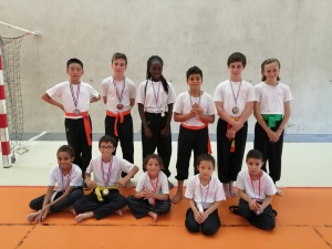 Les enfants ayant participé au 27ème Trophée Hoang Nam