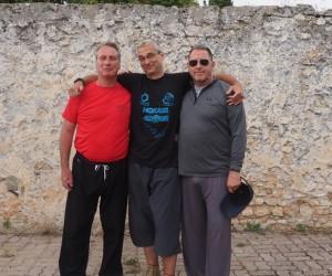 Les intervenants: Jean Marc Guibilato, Serge Gilette et Jean Marie Portos